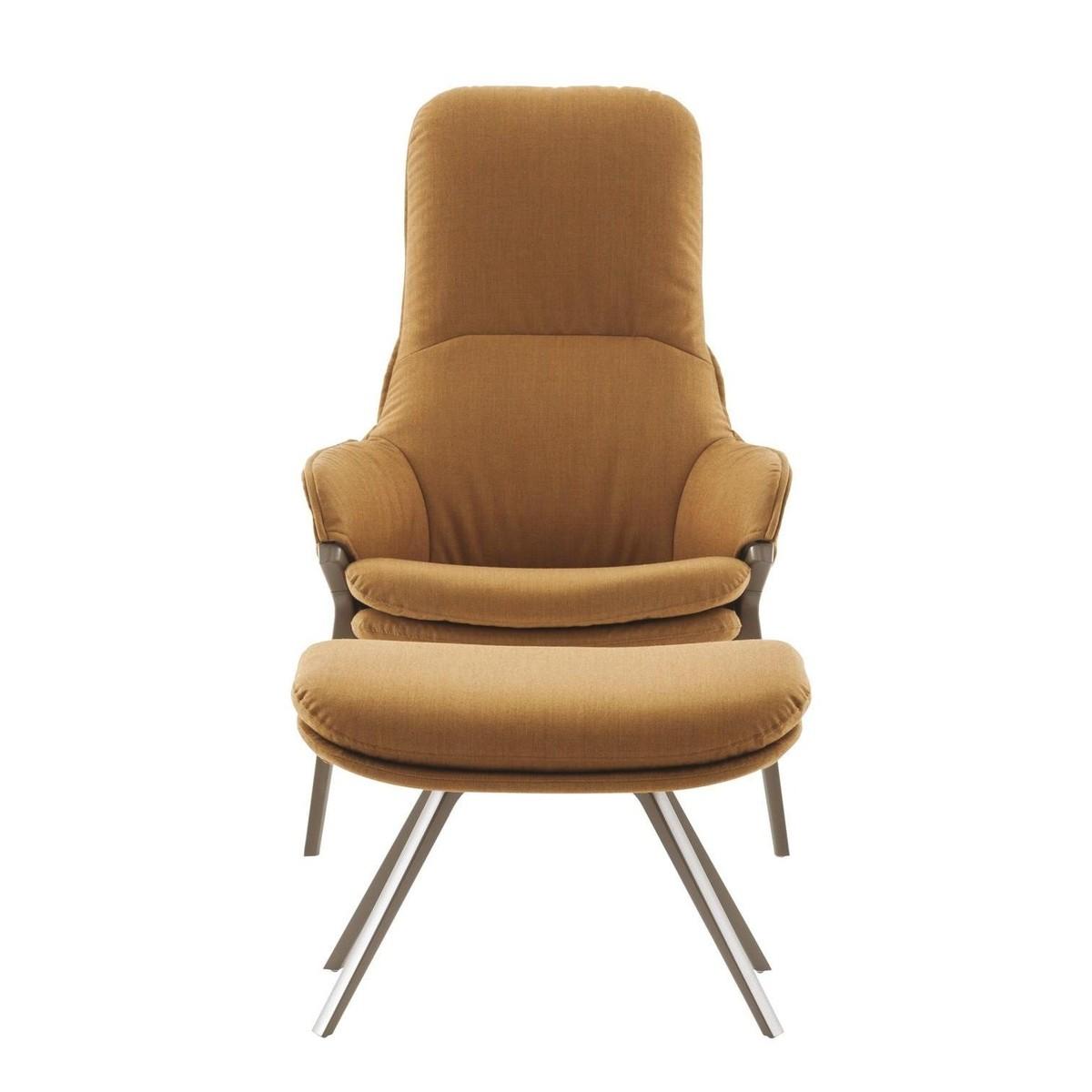 p22 patrick norguet sessel cassina. Black Bedroom Furniture Sets. Home Design Ideas