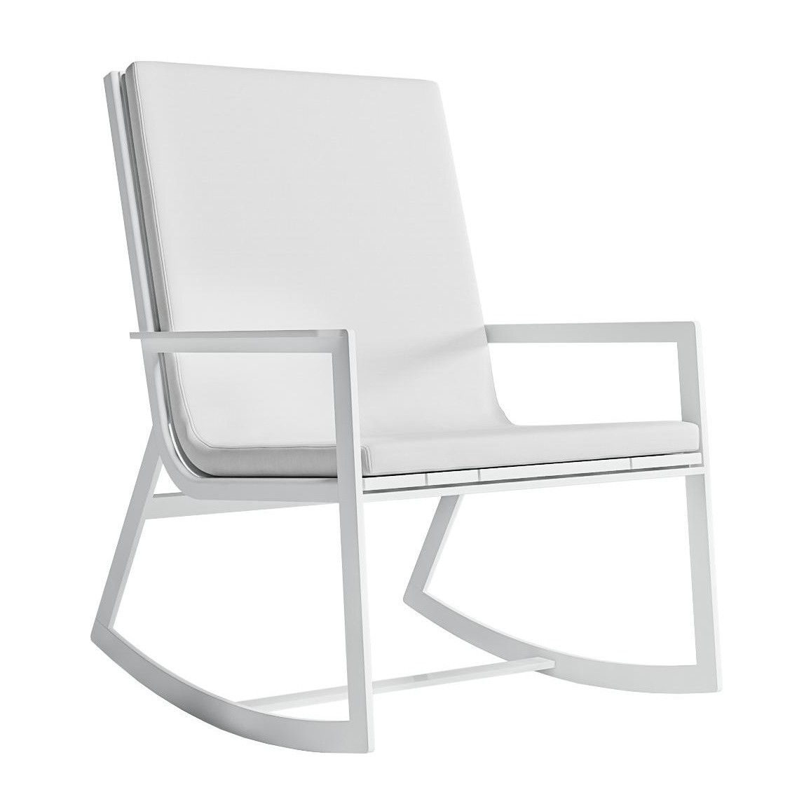 gandia blasco flat rocking chair ambientedirect rh ambientedirect com