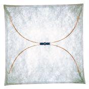 Flos - Ariette 3 Wand- / Deckenleuchte - natur / 130x130cm/Textil/Metall