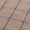 GAN - Garden Layers Tartan Teppich 90x200cm - terrakotta/Handwebstuhl