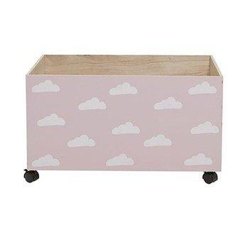 Bloomingville - Arosa Aufbewahrungsbox für Kinder - rosa/LxBxH 70x50x35cm