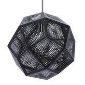 Tom Dixon - Etch Shade Suspension Lamp - black/Ø32cm