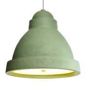 Moooi - Salago Pendelleuchte L - grün/Papierpappe lackiert/Ø 75cm