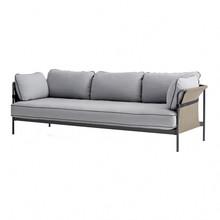 HAY - Can - 3-zits sofa onderstel charcoal