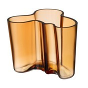 iittala - Alvar Aalto Vase 120mm - bronze desert/Neue Farbe !