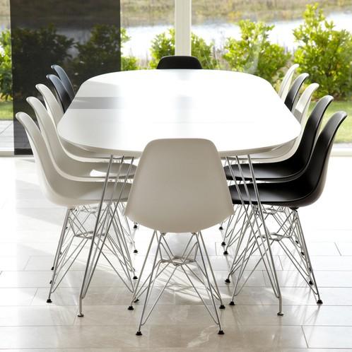Andersen Furniture - DK10 Esstisch ausziehbar Beine Chrom