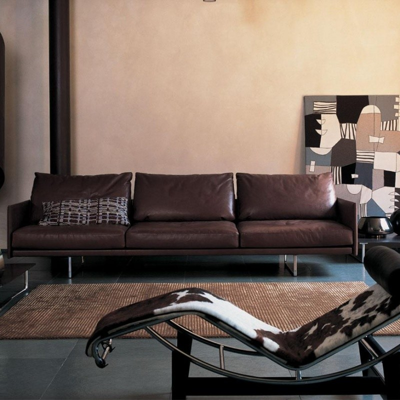 toot sofa 3 seater cassina. Black Bedroom Furniture Sets. Home Design Ideas