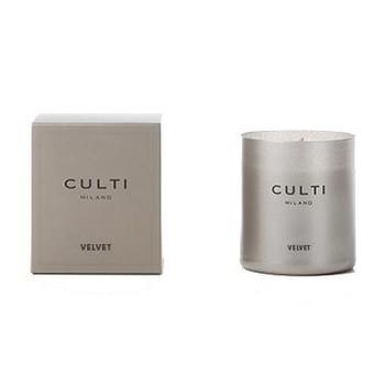 Culti Milano - Culti Duftkerze Velvet - grau/250g