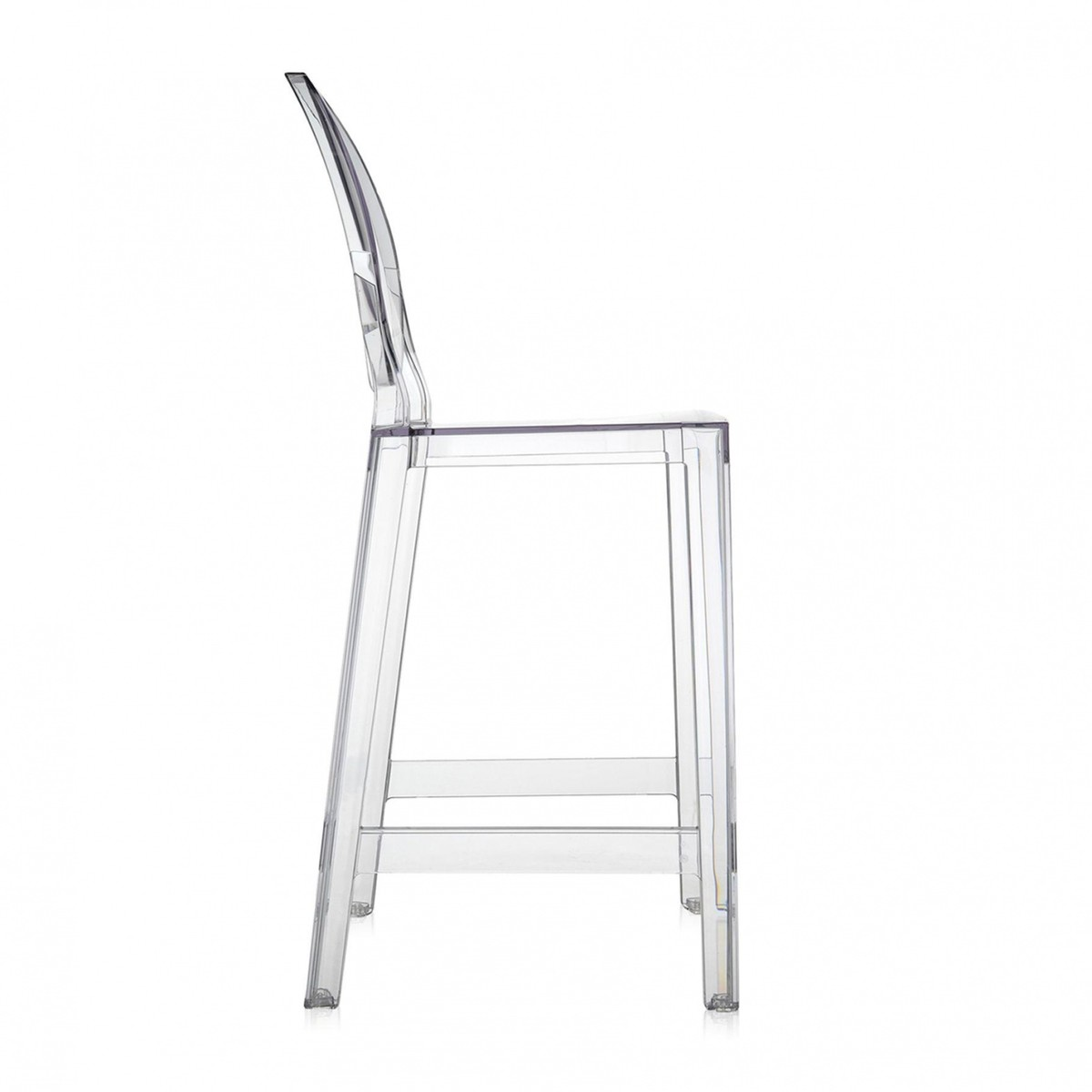 One More Bar Stool 65cm Kartell Ambientedirect Com