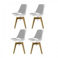 MDF Italia - Flow Chair 4 Piece Set