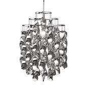 VerPan - Spiral Mini Suspension Lamp - silver