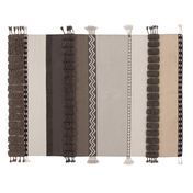 GAN - Glaoui Alexandra Teppich - natur/beige/taupe/Größe 2/200x300cm
