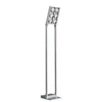 Iguzzini - Cestello LED Stehleuchte - grau/43,5x43,5x280cm/1800lm - 3000 K