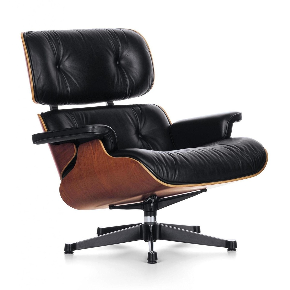 Eames lounge chair xl neue ma e drehsessel vitra - Drehsessel lounge ...