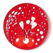 Alessi - Piattopanettone Gebäckplatte - rot/Ø 33,5cm