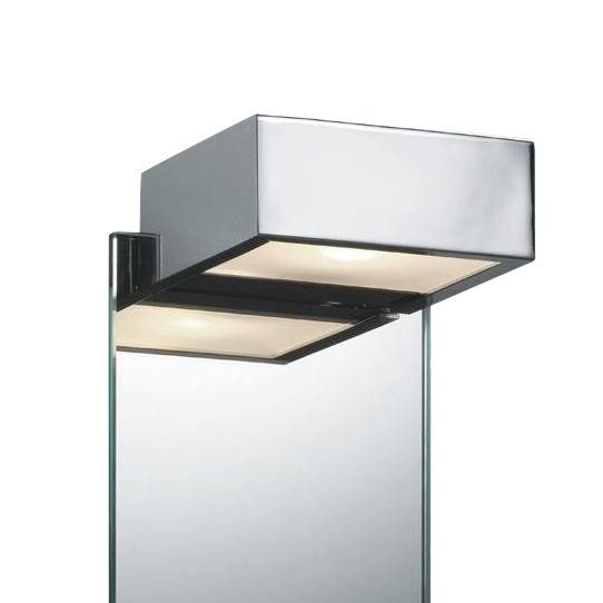 Decor Walther Box 1 15 Led Mirror Clip Lamp Chrome Polished