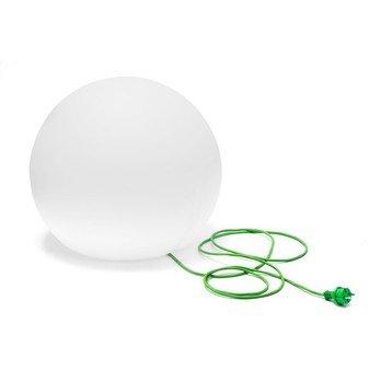 Pedrali - Happy Apple 332E Bodenleuchte - opal/Kabel grün/Ø 120cm