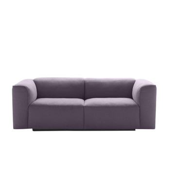 MDF Italia - Mate 2012 2S Extra Sofa - grau/Stoff Kat. B Gin 142