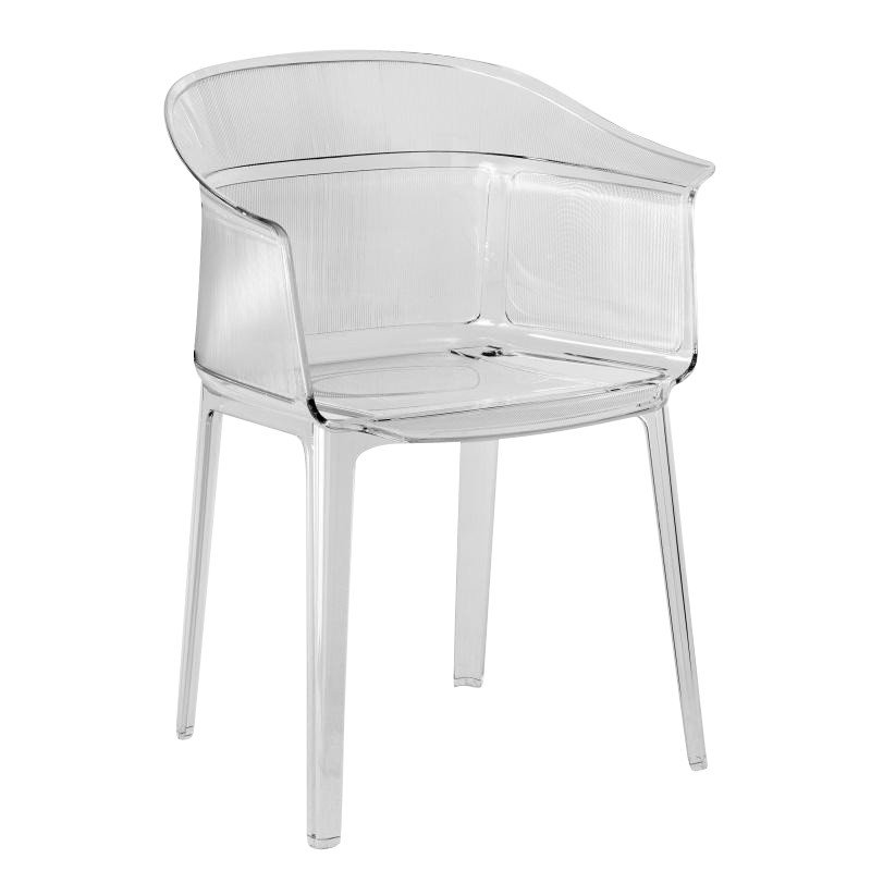 kartell papyrus armchair ambientedirect