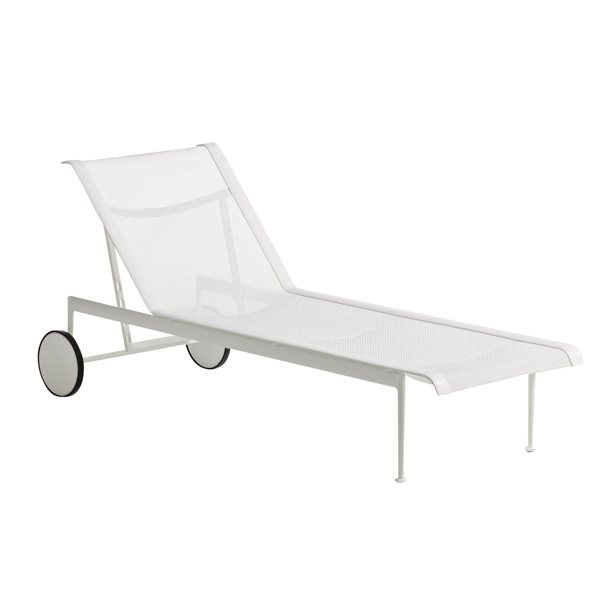 Knoll International   1966 42 Richard Schultz Sun Lounger    White/adjustable ...