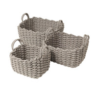 Blomus - Corda Basket With Handles Set Of 3