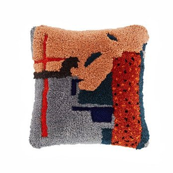 Tom Dixon - Abstract Kissen 45x45cm - pink/BxH 45x45cm