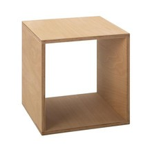 Tojo - Table de chevet Cube 35x35 cm