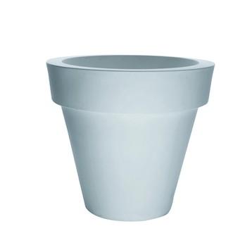Serralunga - Vas One Blumentopf M - weiß / ØxH 130x120cm/Kunststoff