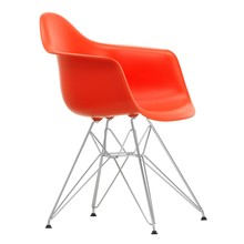Vitra - Eames Plastic Armchair DAR Gestell verchomt