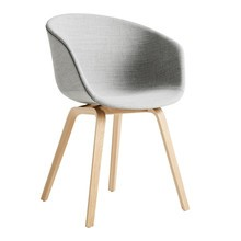 HAY - About a Chair AAC 23 Upholstered Matt Lacquered Oak Base