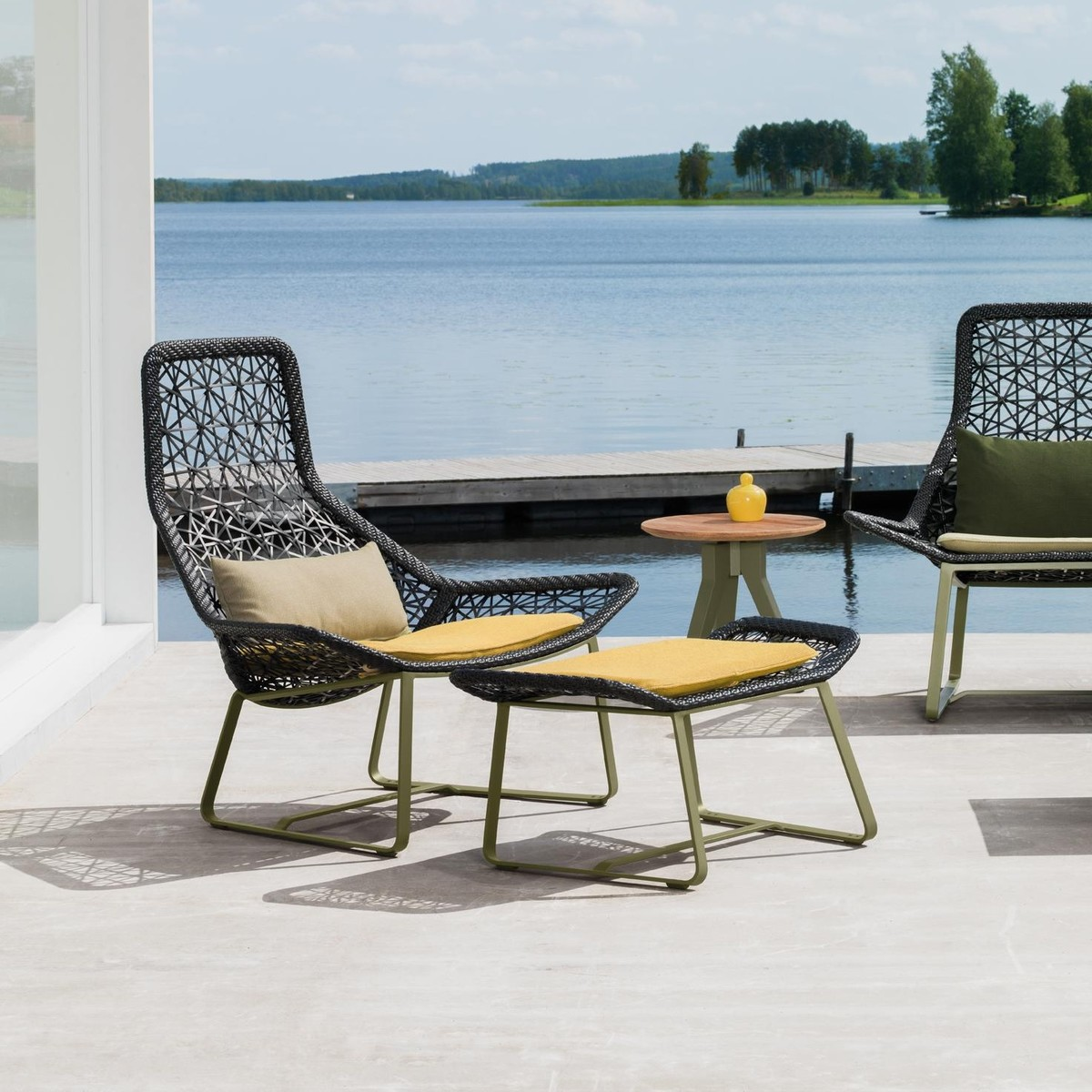 Maia Relax Armchair Garden Chair Kettal