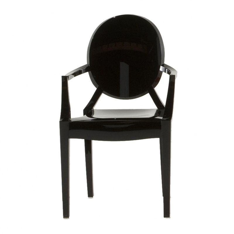 lou lou ghost chaise avec accoudoirs enfant kartell. Black Bedroom Furniture Sets. Home Design Ideas