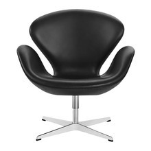 Fritz Hansen - Swan Chair Sessel Leder