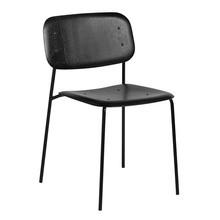 HAY - Soft Edge 10 Stuhl Gestell Stahl schwarz