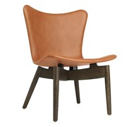 Mater - Shell Lounge Chair Oak Sirka Grey