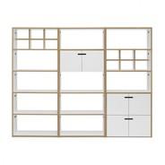 Tojo - Hochstapler Shelf With Doors 228x179cm