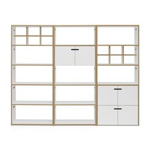 Tojo - Hochstapler Shelf With Doors 228x179cm