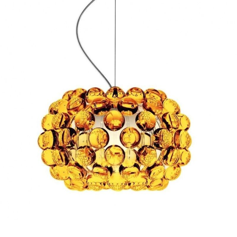 foscarini caboche piccola for multi canopy golden yellow 31cmlxw 135x90cm multi canopy interior - Yellow Canopy Interior