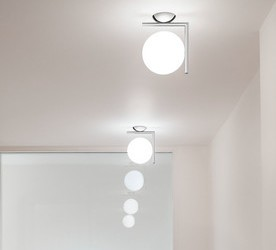 Kachel Räume Badezimmer Deckenleuchtel Flos IC