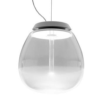 Artemide - Empatia 36 Sospensione LED Pendelleuchte - transparent/3000K/2349lm/H 38.2cm/Ø 36cm