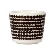 Marimekko - Oiva - Coquetier - noir et blanc/Motif: Siirtolapuutarha