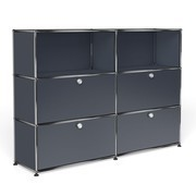 USM - USM Haller Highboard With 4 Falling Boards