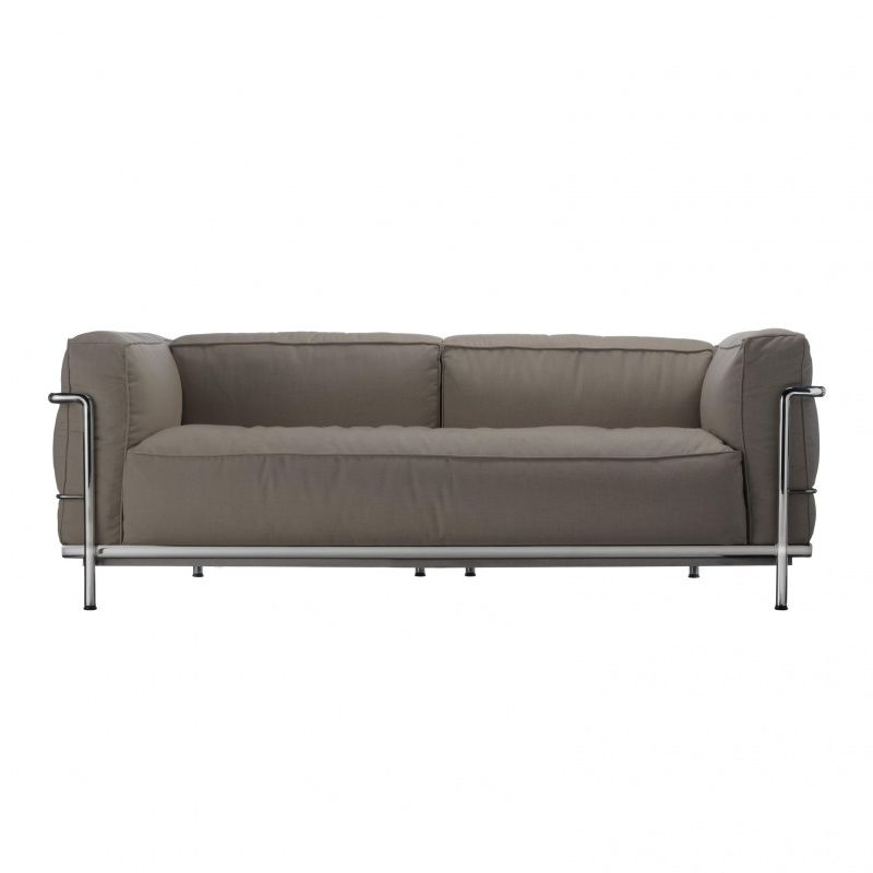 Le corbusier sofa lc3 grande le corbusier sofa 82 home and for Le corbusier sofa