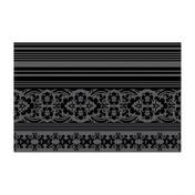 Moooi - Carpet Nr. 03 Teppich - weiß/braun/300x200cm