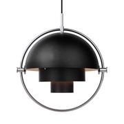 Gubi - Multi-Lite Suspension Lamp Ø36cm Frame Chrome