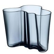 iittala - Alvar Aalto Vase 160mm - rainblue