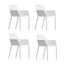 Kristalia - Kristalia Mem Armchair Set of 4