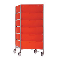 Kartell - Mobil 6 Container with wheels