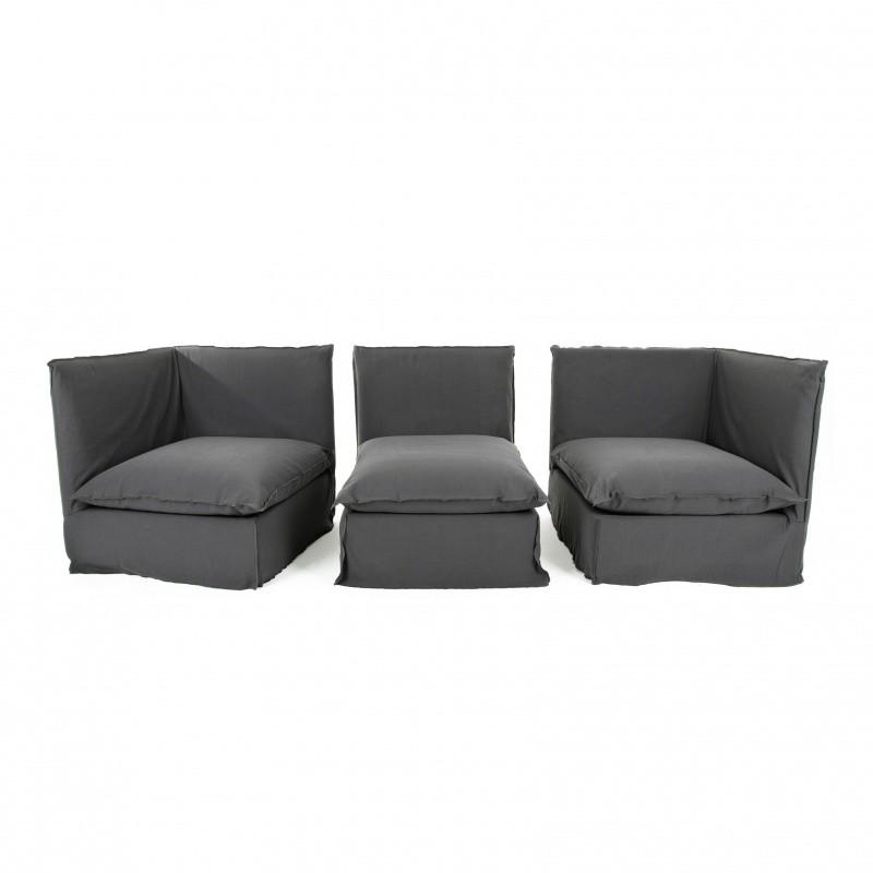 Ghost sofa ottoman gervasoni for Gervasoni furniture