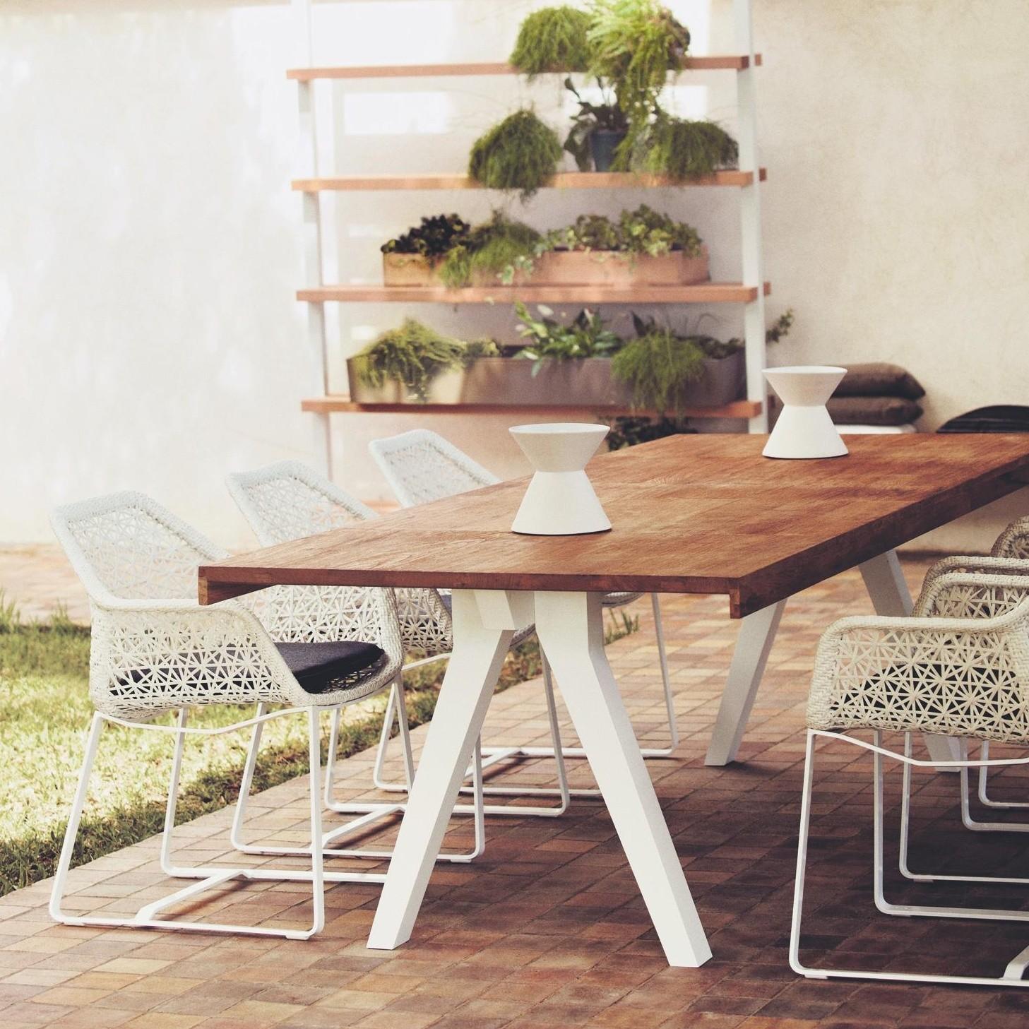 Kettal Maia Dining Armchair Garden Chair